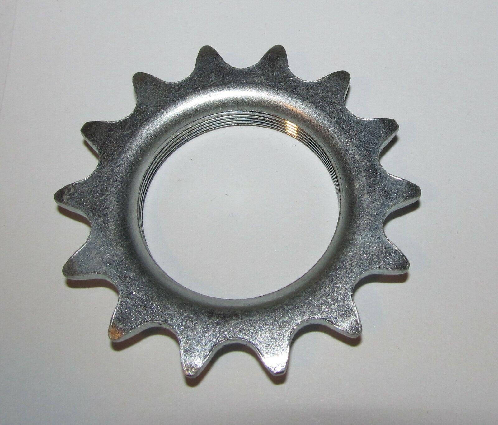 "JOYTECH 16T x 3//32/"" SILVER Fixed Gear Track Bike Cog 16 Tooth English Thread"