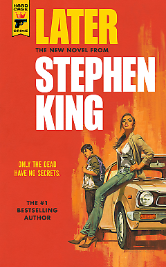 LATER BY STEPHEN KING , PAPERBACK , BRAND NEW , FREE SHIPPING IN THE US