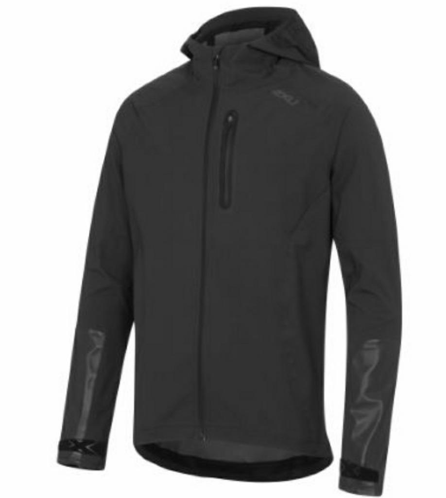 2XU AC Waterproof Reflective Jacket BlkBlk MA4543a