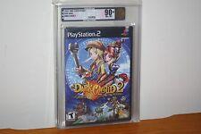 Dark Cloud 2 (PS2 Playstation 2) NEW SEALED MINT, GOLD VGA 90+, HIGHEST GRADE!