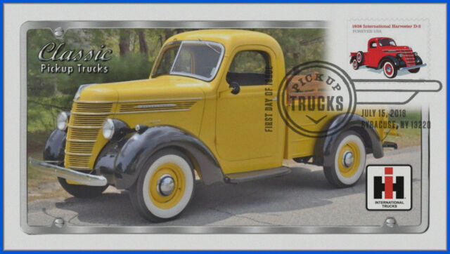 5101 Pickup Trucks - 1938 International D-2 First Day Cover 2016 #107