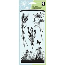Inkadinkado Clear STAMPS 4 X8 Sheet-meadow