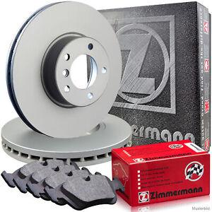 Zimmermann-Bremsscheiben-Belaege-Wako-CITROEN-JUMPER-DUCATO-PEUGEOT-BOXER-vorne