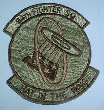 AMERICAN PATCHES-UNITED STATES AIR FORCE 94th FIGHTER SQUADRON RARE DESERT