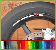 12 x HONDA HRC Wheel Rim Stickers Decals - fireblade 600rr hornet vfr vtr cbr