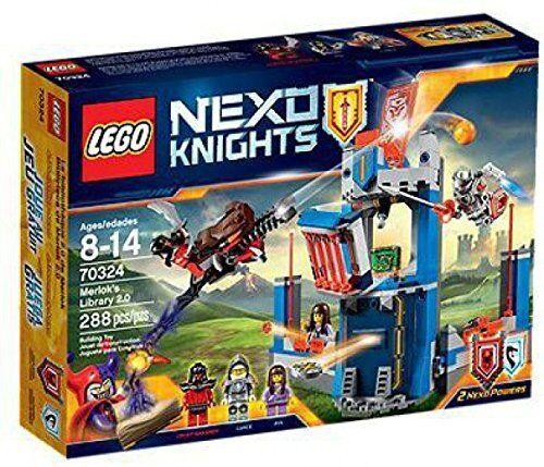 Lego ® 70324 Nexo Knights Merloks Bücherei 2.0 Neu OVP new sealed