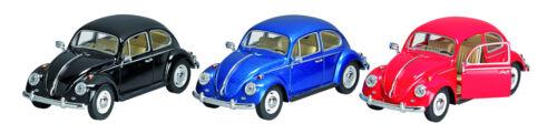 1:24 rojo maqueta de coche aprox 1967 Clásico: VW Escarabajo 17cm Kinsmart mercancía nueva!