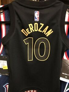 9f11682ee98 Toronto Raptors DeMar DeRozan Nike 2017 We The North Toddler Jersey ...