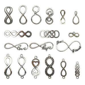 20//40pcs Retro style connector Charm Pendant DIY Jewellery crafts 35x9mm
