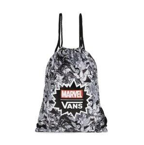 cdf11eb393 VANS Marvel Characters Benched Bag BNWT Swim Gym Kit PE Drawstring ...