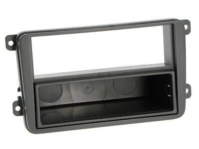 vw polo 6r radio blende einbau rahmen 2 din ebay. Black Bedroom Furniture Sets. Home Design Ideas