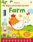 Wipe-Clean Dot-to-Dot Farm by Usborne Publishing Ltd (Paperback, 2015)