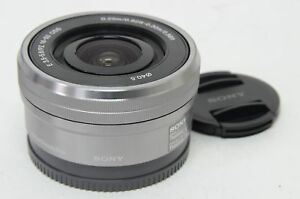 Original-silvery-SELP1650-16-50mm-F-3-5-5-6-PZ-OSS-Lens-For-SONY-E-Mount-Camera