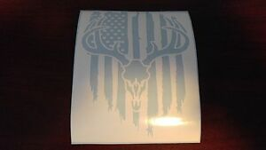 Window-Toolbox-Sticker-286-American-Flag-Deer-Head-Sticker