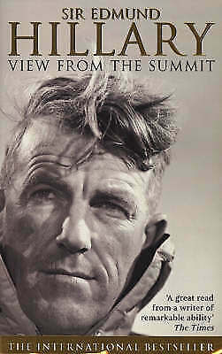"""AS NEW"" The View from the Summit, Hillary, Sir Edmund, Book"