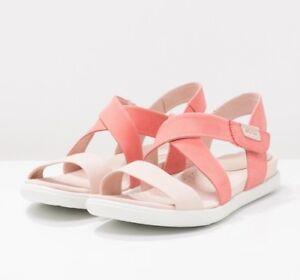 a9c71a12fd50c NEW ECCO Damara Sandals Women s 41 10-10.5 Rose Dust Pink Leather ...