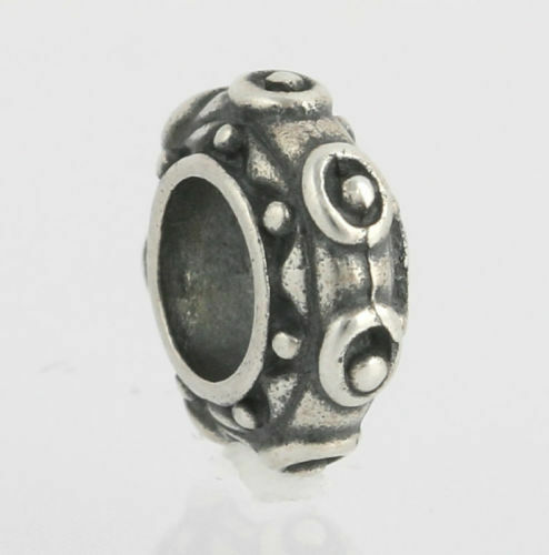 NEW Chamilia Bead Charm Sterling Silver PA-26 Dots Collectible 925 CHAM