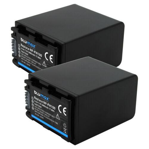 Bateria para Sony np-fh100651912400mahnp-fh40 np-fh50 np-fh60 np-fh70