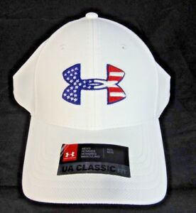 wholesale dealer 4f872 4a415 Image is loading Under-Armour-Mens-Freedom-Blitzing-Cap-M-L-NWT