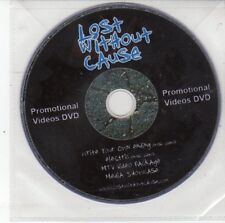 (DS800) Lost Without Cause, Write Your Own Ending / Electric - DJ DVD