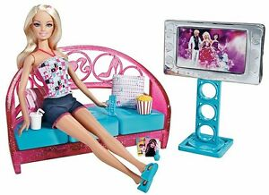Genial Image Is Loading Barbie Movies To Munchies Living Room Set Doll
