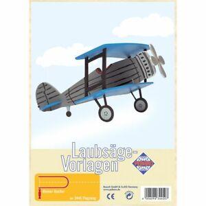 PEBARO-Laubsaegevorlage-Flugzeug