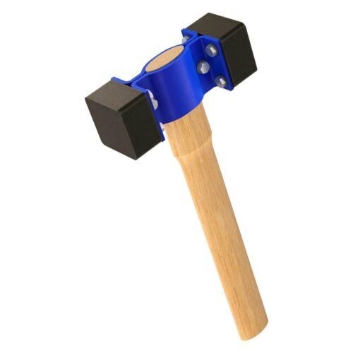 "Bon 21-224 Rubber Hammer w 18/"" Wood Handle"