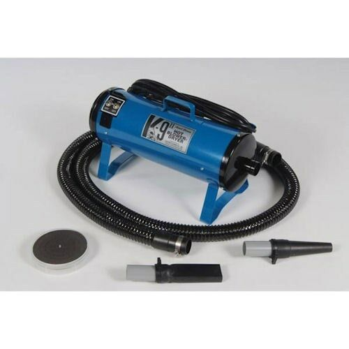 K9 II Dog BlowerDryer, 110 VOLT, 2 Speeds, 2 Temperatures, blu