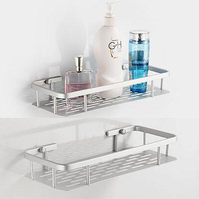 Aluminum Space Shelves Wall-Mounted Bathroom Bath Single Bathroom Shelf 805