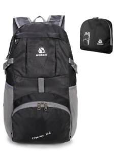 WEIKANI Ultralight Packable Backpack Daypack Unisex Foldable Rucksack 35L