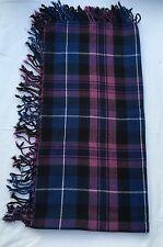 "Kilt Fly Plaid Pride of Scotland tartan/Onore della Scozia Kilt Fly Plaid 48""x48"""