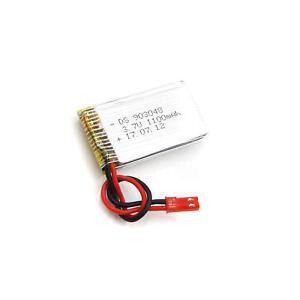 3.7V 1100mAh 903048 Lipo Battery JST plug für Remote Control Helicopter Car Toys