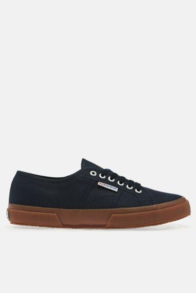 2019 Nuevo Estilo Superga 2750 Cotu Unisex Calzado Zapato-azul Marino Goma Todas Las Tallas-ver EscalofríOs Y Dolores