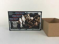Nuevo Star Wars Potf Ewok Caja de combate y Insertos