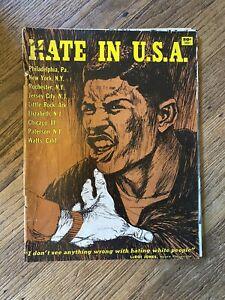 Vintage-HATE-IN-THE-USA-1966-Black-Americana-Magazine-Civil-Rights-Unrest-RARE