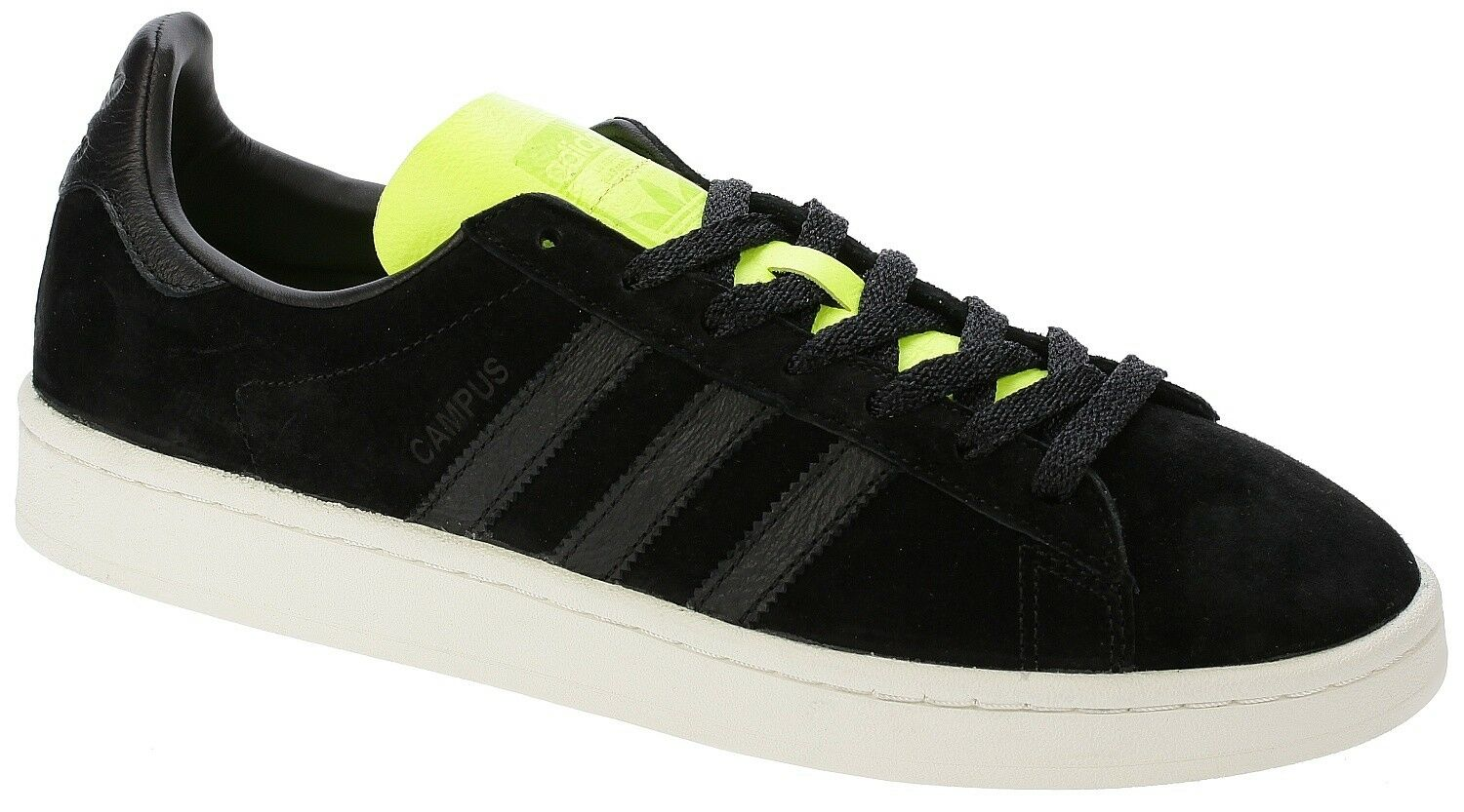 *BRAND NEW* adidas Originals Campus Sneakers, BLK / YLLW (BB00882), Size 10.5 US