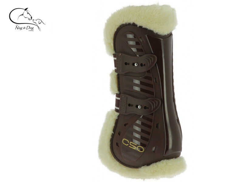 EKKIA CSO Faux Fleece Lined Tendon & Fetlock Stiefel Horse Protection Set 4