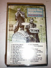 Sonny Boy Williamson CASSETTE NEW King Biscuit Time