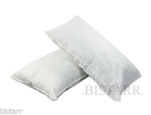 SUPER-KING-SIZE-BED-PILLOWS-POLYCOTTON-HOLLOWFIBRE-FILLED-20-034-x-36-034-50-x-90cm