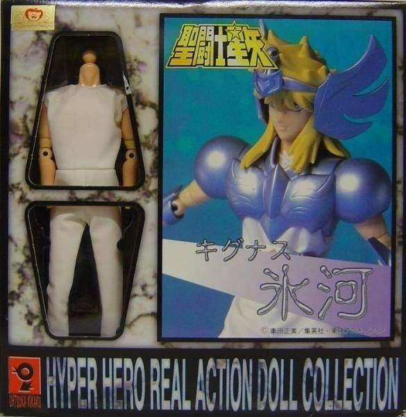 Saint Seiya Hyper Hero action doll collection CYGNUS Cygne Hyoga