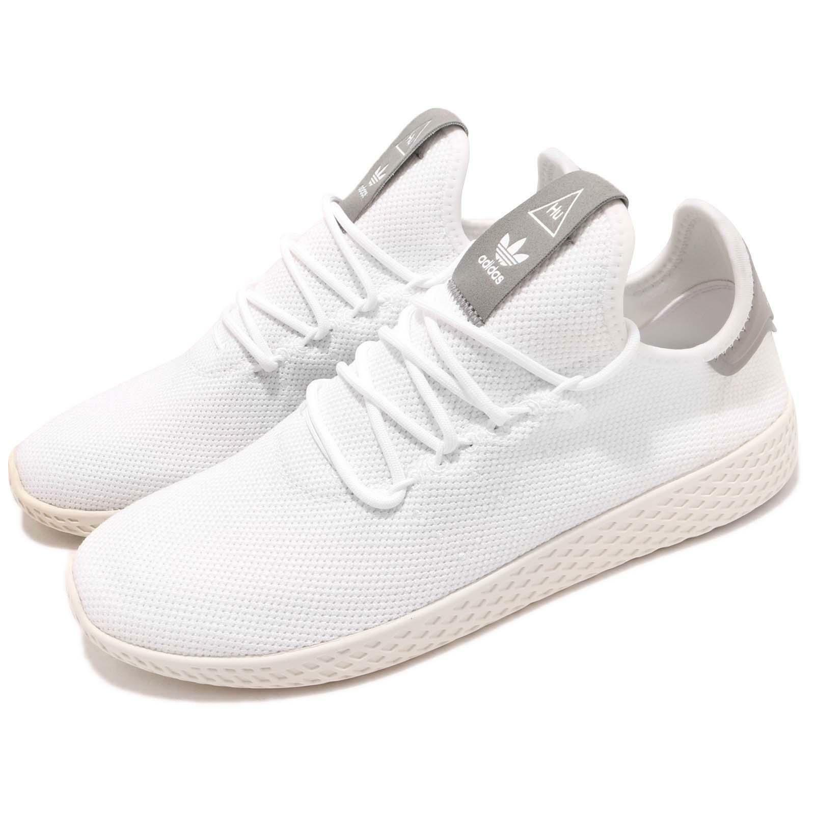 adidas Originals PW Tennis Hu Pharrell Williams Blanc Gris Homme Chaussures B41793