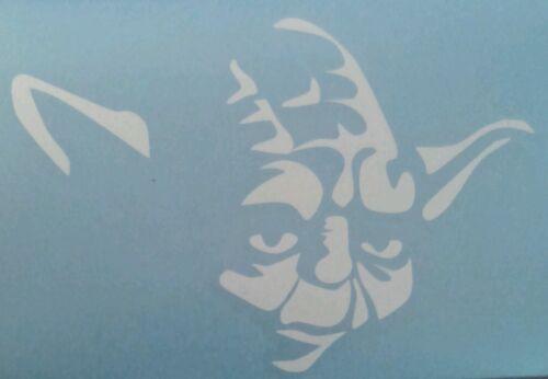 Yoda Star Wars Car Truck Window Vinyl Decal Sticker