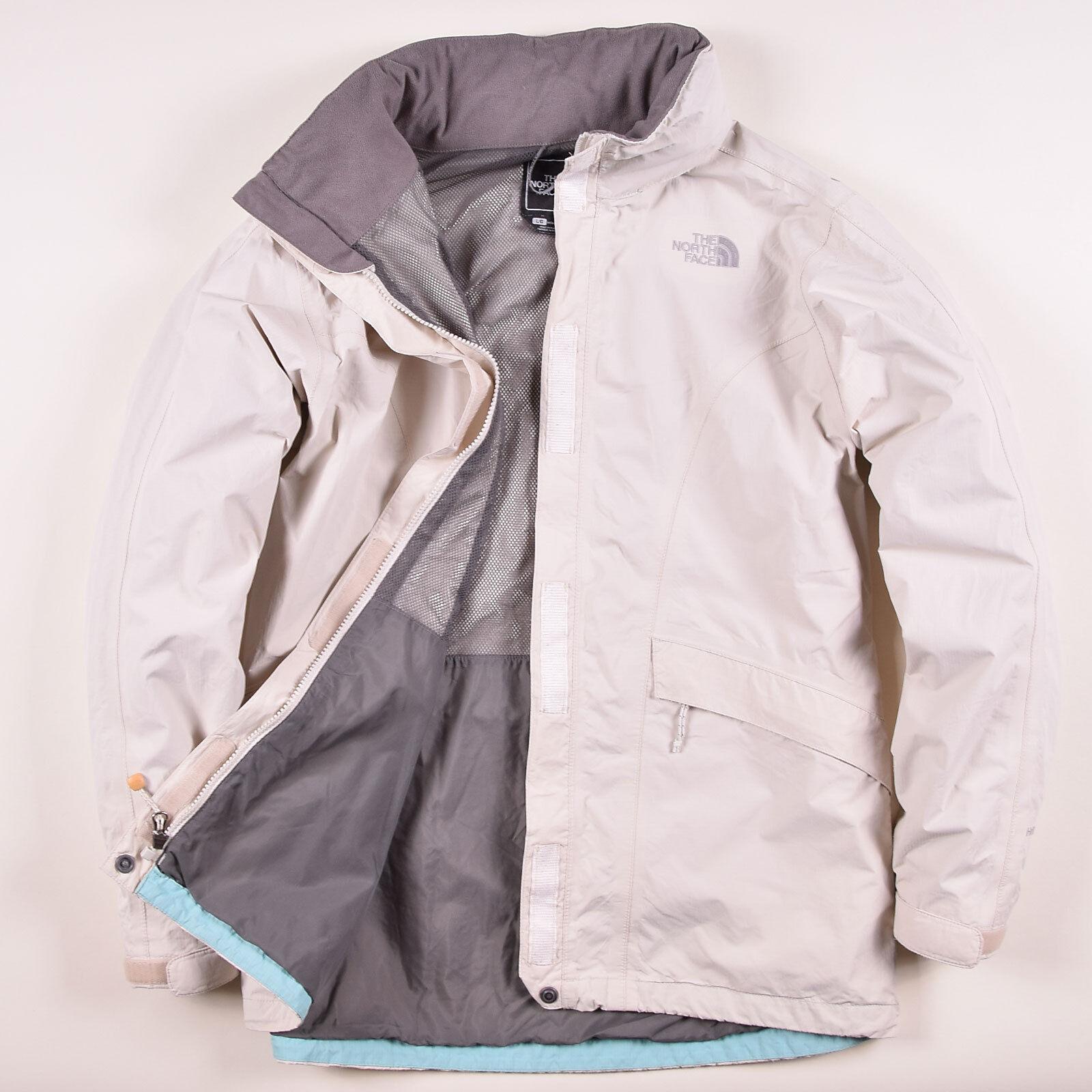 North Face Damen Jacke Jacket Gr.L (DE 42) HyVent Regenjacke Beige, 58953