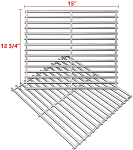 Stainless Steel Cooking Grates For Broil King 9865 54 9221 64 Broil Mate 16515 313018278294 Ebay