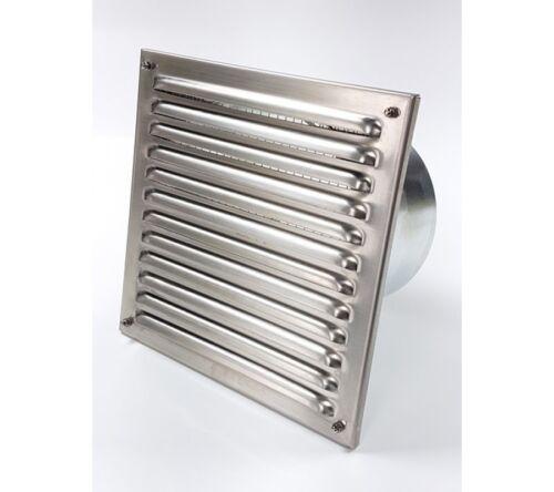 Grille extérieure luftgitter quelque temps grille de protection 21x21cm Acier Inoxydable luftgitter