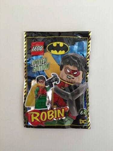 "LEGO Batman /""Robin/"" Minifigur Polybag OVP 211902"