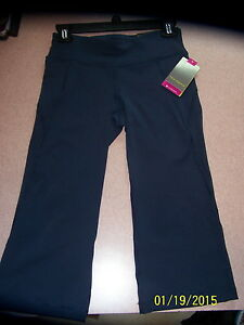61f7187f7e9a2 Women s Tek Gear Blue Capri Workout Shapewear pants-Size XS-NWT ...