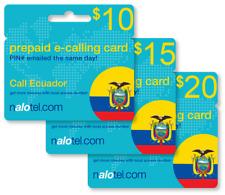 cheap international calling card for ecuador with emailed pin - International Calling Cards