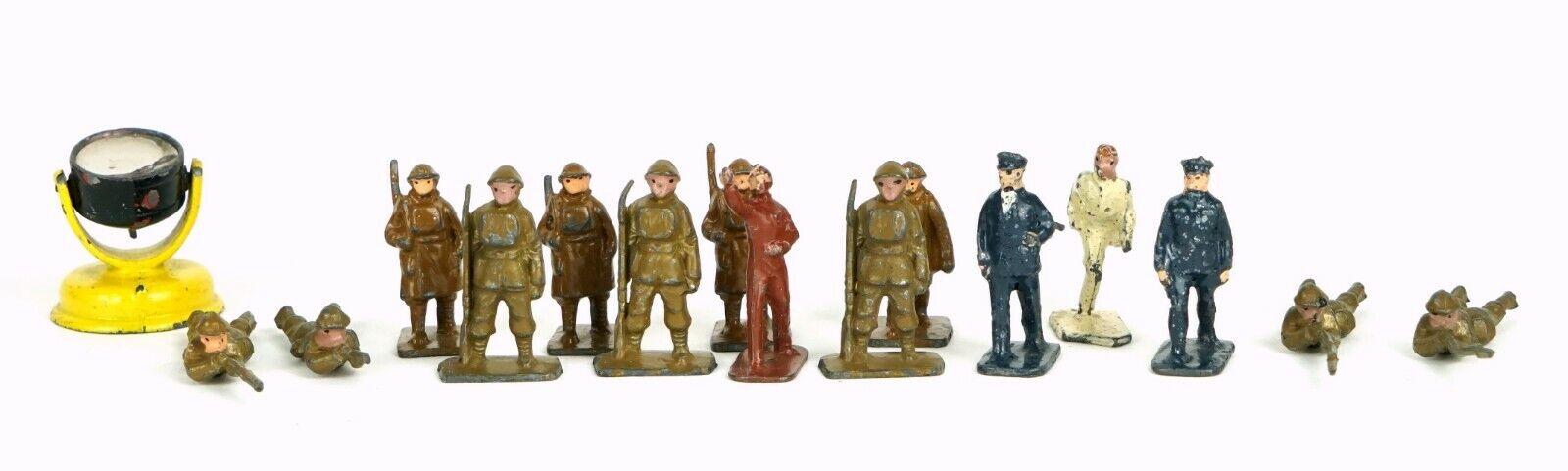 Los modelos de escala skybirds-pre-guerra Británico Ejército Militar Reflector soldado figuras