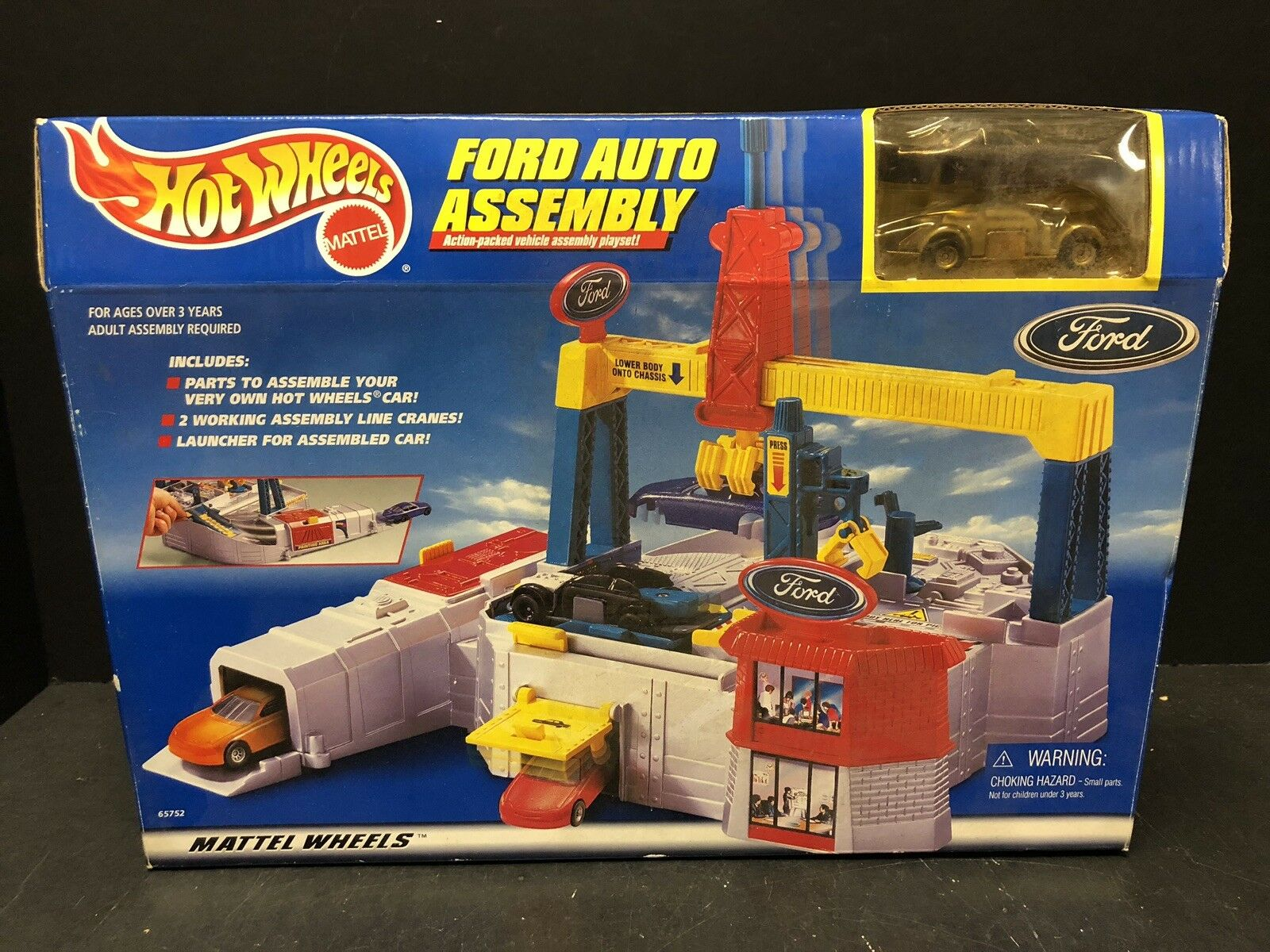 Hot Wheels Ford Auto Assembly Playset EM1456